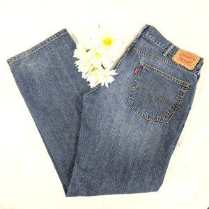 Levi's 559 Relaxed Fit Straight Jeans SZ 38 x 34